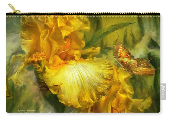 Goddess Of Summer Carry-all Pouch