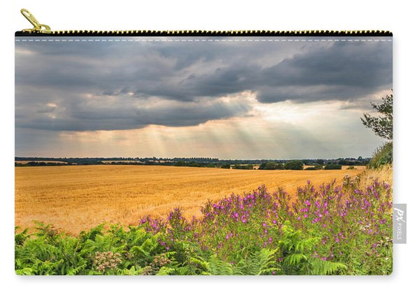 Carry-all Pouch featuring the photograph Gods Light by Nick Bywater