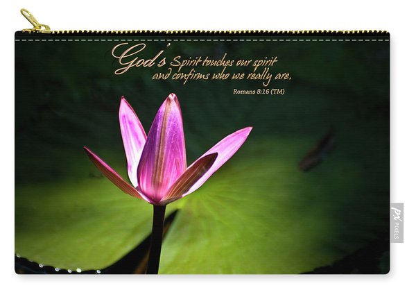 God's Spirit Carry-all Pouch