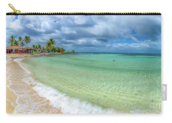 Goff's Caye Belize Pano Carry-all Pouch