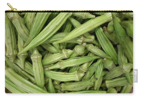 Going For Okra Carry-all Pouch