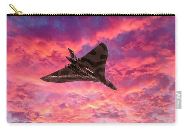 Going Out In A Blaze Of Glory Carry-all Pouch