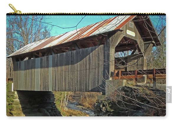 Gold Brook Bridge Carry-all Pouch