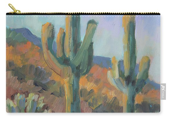 Gold Canyon Saguaros Carry-all Pouch