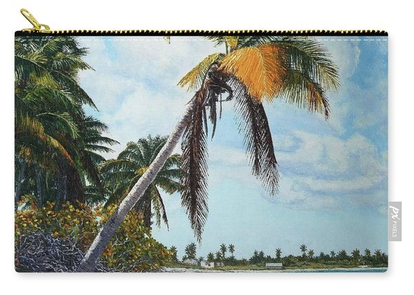 Gold Coconut Carry-all Pouch