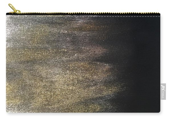 Gold Dusty Night Carry-all Pouch