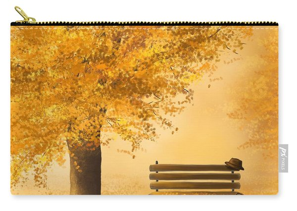 Gold Memories Carry-all Pouch
