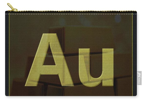 Gold Periodic Table Carry-all Pouch
