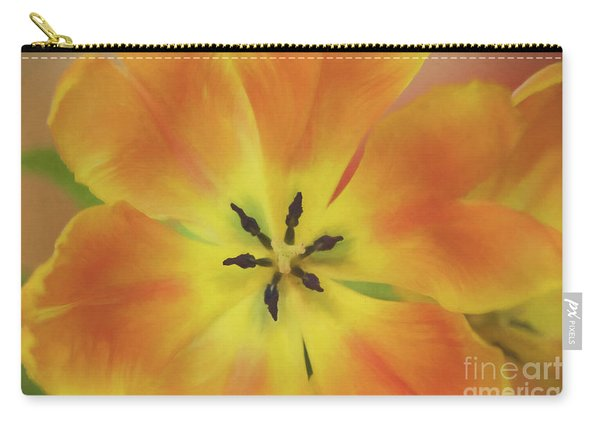 Gold Tulip Explosion Carry-all Pouch