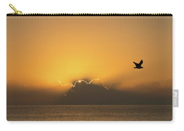 Golden Bird Sunrise Delray Beach Florida Carry-all Pouch