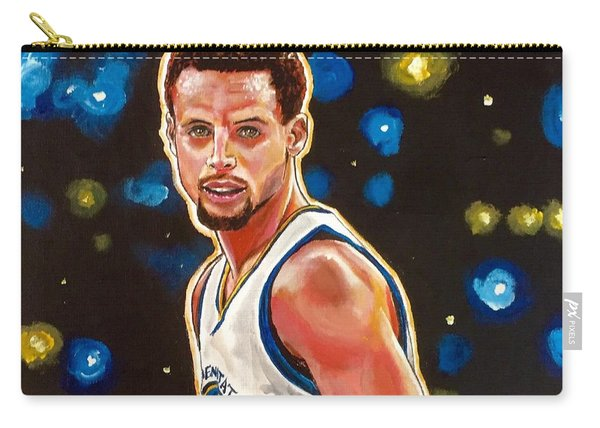 Carry-all Pouch featuring the painting Golden Boy by Joel Tesch
