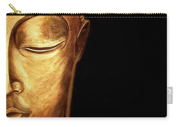 Golden Buddah Carry-all Pouch