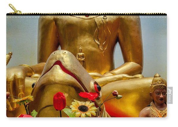 Flowers For Buddha  Carry-all Pouch
