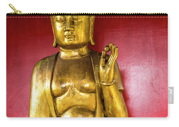 Golden Buddha With The Pearl Of Wisdom Carry-all Pouch