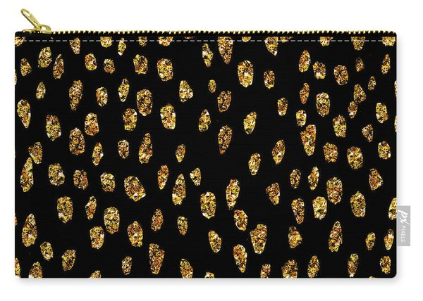 Golden Dots Carry-all Pouch