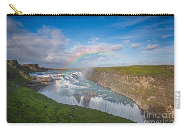 Golden Falls, Gullfoss Iceland Carry-all Pouch
