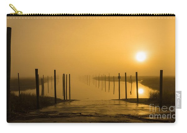 Golden Fog On The Nissequogue Carry-all Pouch