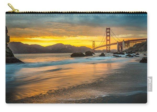 Golden Gate Bridge After Sunset Carry-all Pouch
