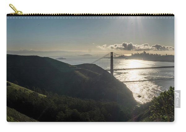 Golden Gate Bridge From The Road Up The Mountain Carry-all Pouch
