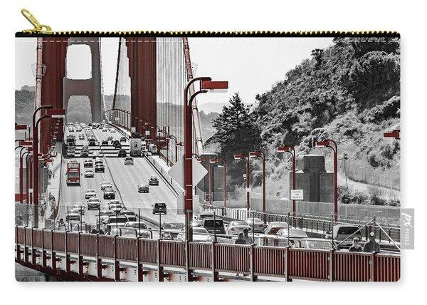 Golden Gate Bridge Street View Carry-all Pouch