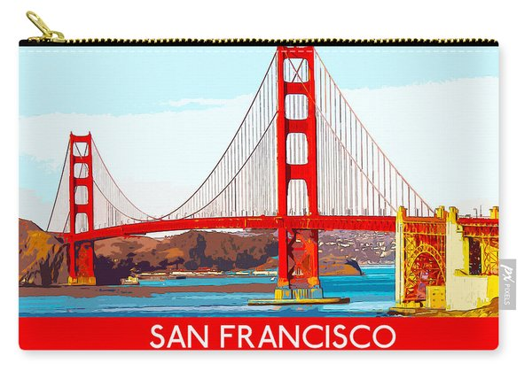 Golden Gate Bridge San Francisco The City By The Bay Carry-all Pouch