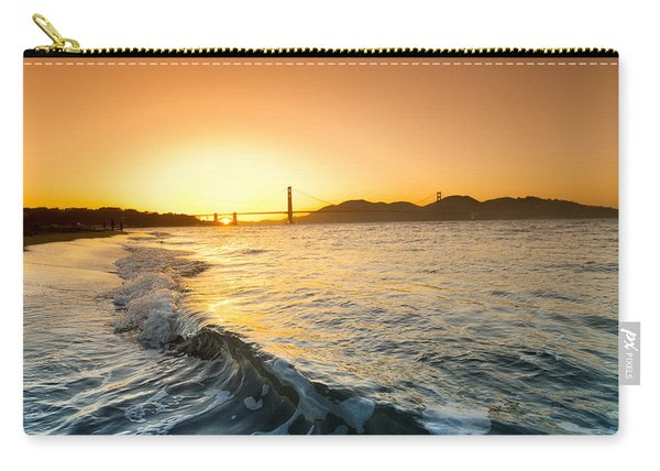 Golden Gate Curl Carry-all Pouch