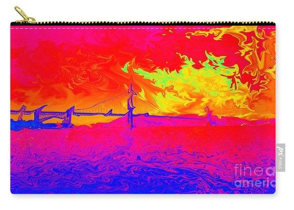 Golden Gate Mod Pop Carry-all Pouch