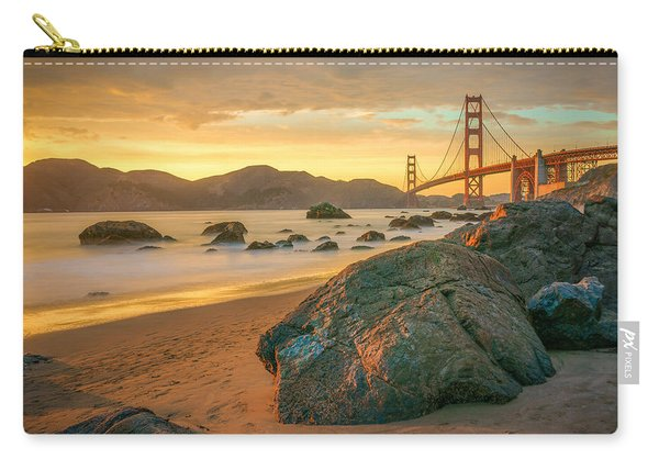 Golden Gate Sunset Carry-all Pouch