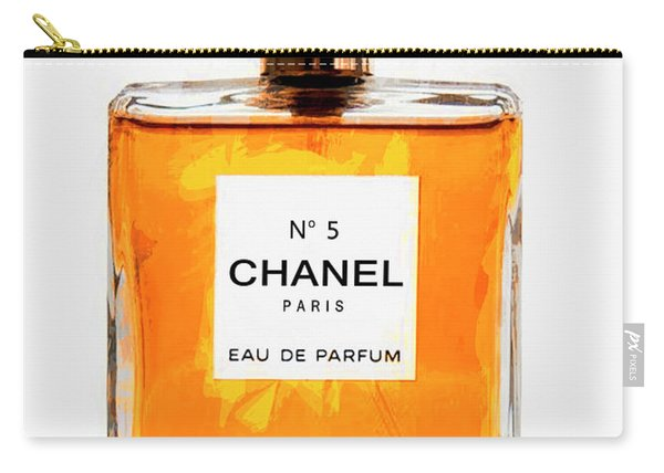 Golden Glow Of Chanel No. 5 Carry-all Pouch