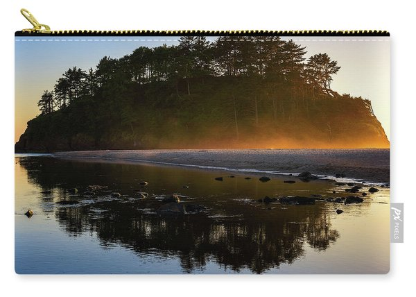Golden Hour Haze At Proposal Rock Carry-all Pouch