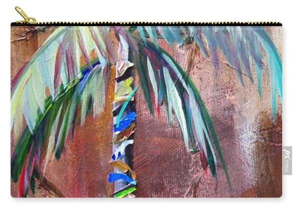 Golden Jasper Palm Carry-all Pouch