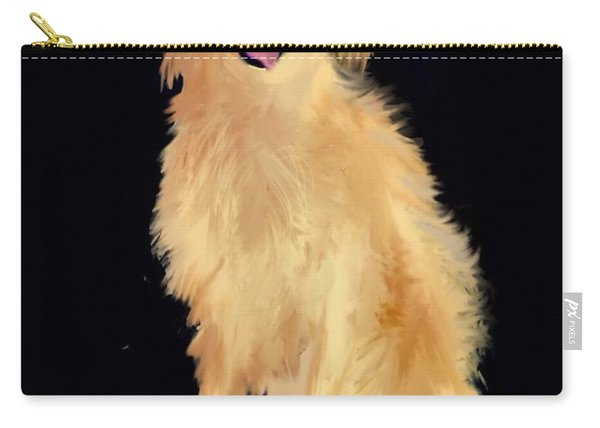 Golden Lab Carry-all Pouch