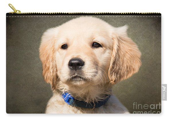 Golden Labrador Puppy Carry-all Pouch