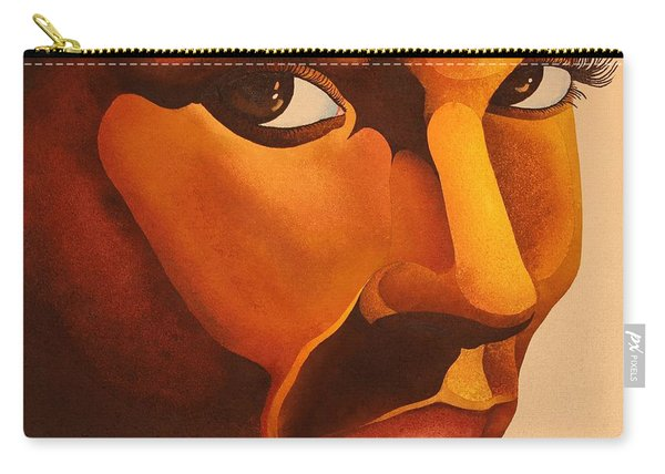 Golden Lady Carry-all Pouch