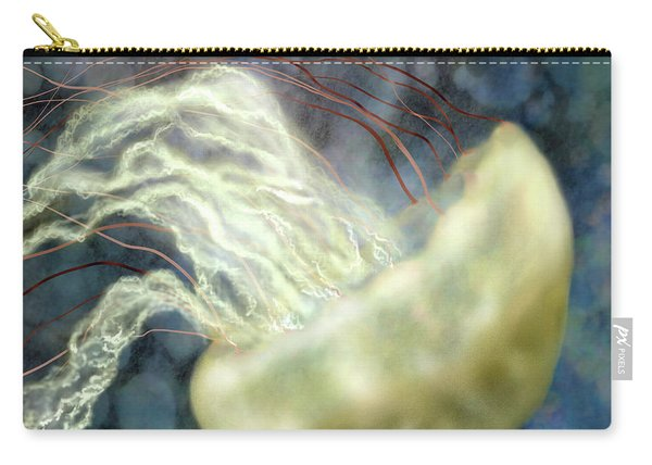 Golden Light Jellyfish Carry-all Pouch