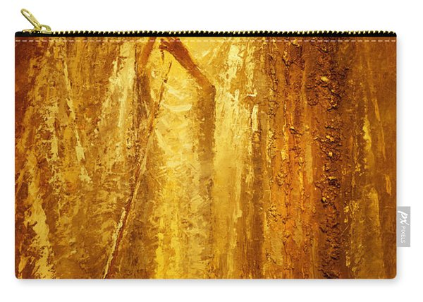 Golden Light Of Angel Carry-all Pouch
