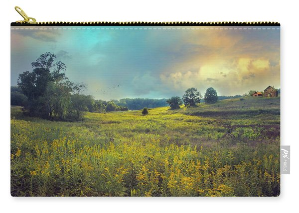 Golden Meadows Carry-all Pouch