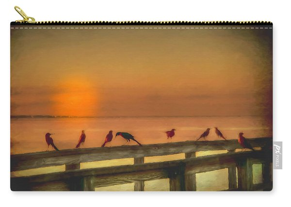 Golden Moment Carry-all Pouch