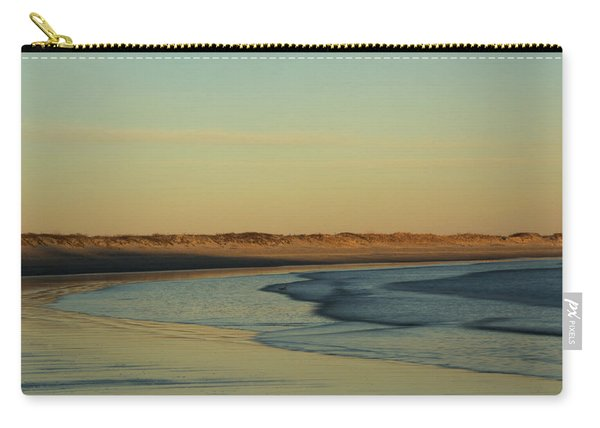 Golden Morning On Rhode Island Coast Carry-all Pouch