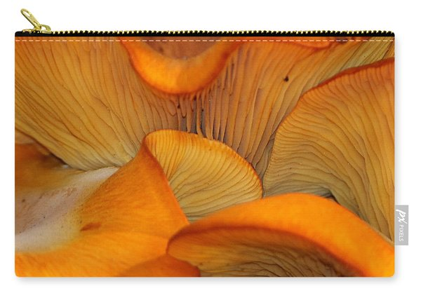 Golden Mushroom Abstract Carry-all Pouch