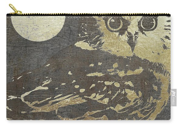 Golden Owl Carry-all Pouch