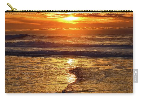 Golden Pacific Sunset Carry-all Pouch