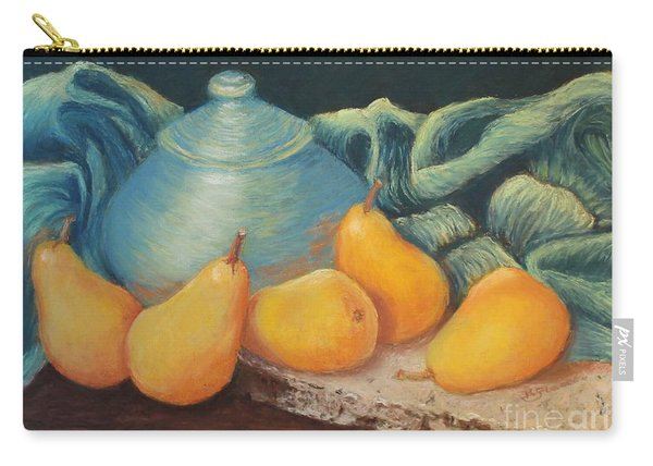 Golden Pears Carry-all Pouch