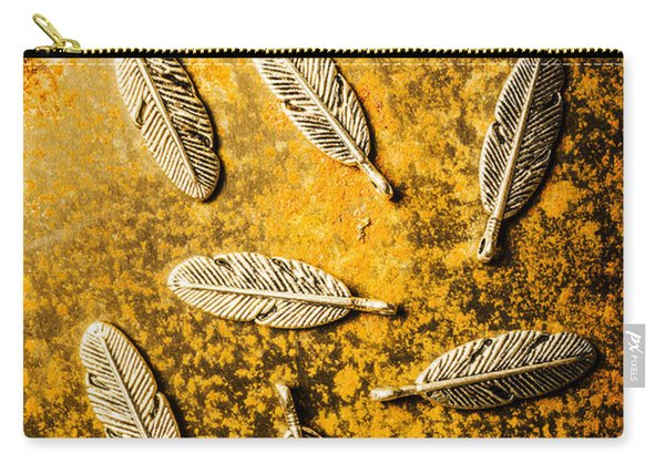 Golden Plumage Carry-all Pouch