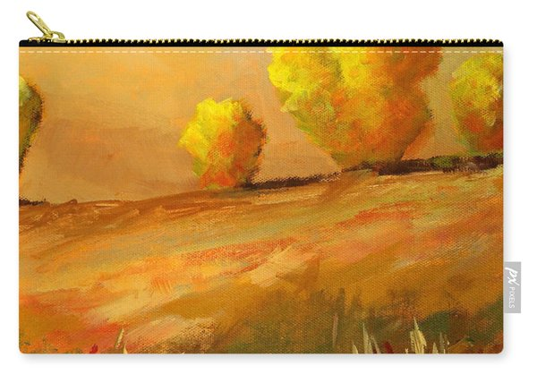 Golden Prairie Carry-all Pouch