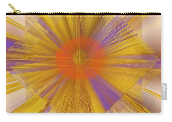 Golden Rays Carry-all Pouch