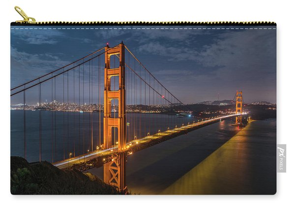 Golden Reflection Carry-all Pouch