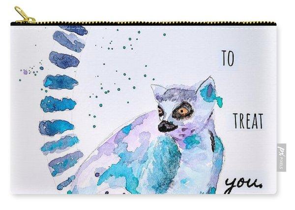 Golden Rule Lemur Carry-all Pouch