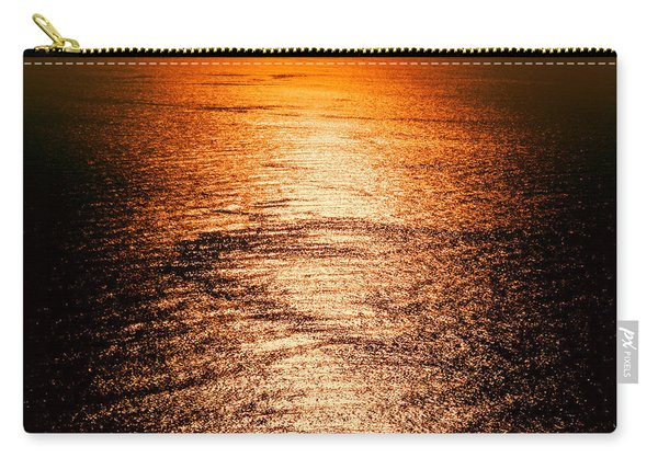 Golden Sea In Alanya Carry-all Pouch