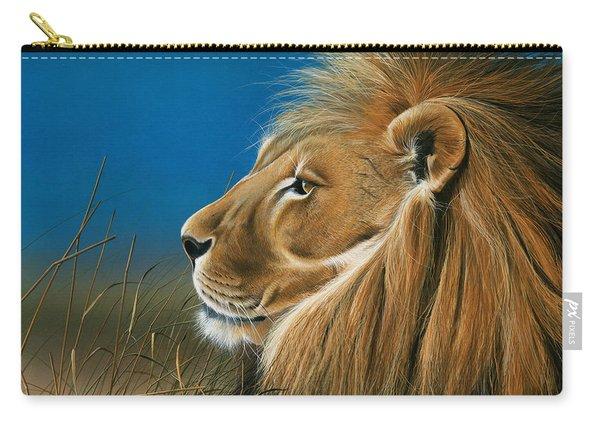 Golden Sentinal Carry-all Pouch